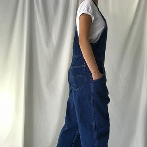 Vintage Lee Overalls Tapered Leg Made In U.S.A